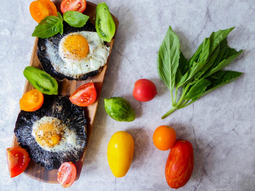 eggcookedportobello
