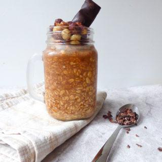 cocoa overnight oats