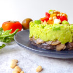 VEGAN WILD MUSHROOMS AND AVOCADO TARTARE