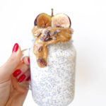 OVERNIGHT OATS CHIA PUDDING MILKSHAKE | Vegan